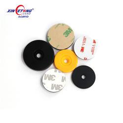 Etiqueta de disco con el agujero del sistema de patrulla de la Ronda de Guardia puesto de control inteligente de la etiqueta RFID de ABS Token