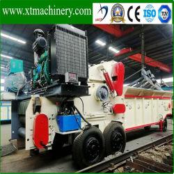 De draagbare Bladen van de Dieselmotor 6PCS, de Houten Ontvezelmachine van de Capaciteit 20-25ton/Hour