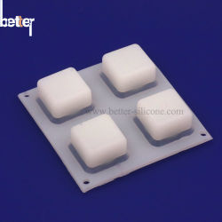 Silikon-Gummi-Tasten-Auflage LED-Music/MIDI 2X2 lichtdurchlässige/Tastaturblock-Tastatur