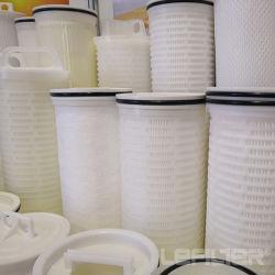 Grand débit de filtration de l'eau PP Cartouche de filtre plissé Hfu660UY100h