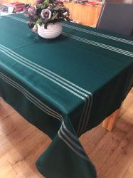 De Tafellinnen van Suntex 100% Doek van de Lijst van de Polyester Gestreepte