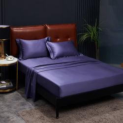 Наиболее роскошное постельное белье Satin натяжная простыня мягкая кровать листов 600 Количество потоков
