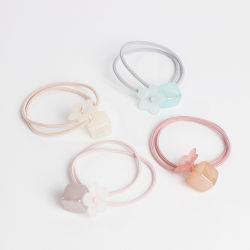 Band van het Haar van de Kleur van het Suikergoed van de Meisjes van de Toebehoren van het Haar van de manier de Elastische