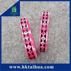 Основная часть дешевые индивидуальное сочетание цветной силиконовый браслет/запястье