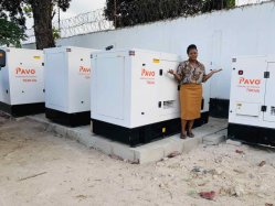 125kVA/100kw gerador de potência do motor Diesel Grupo Gerador à prova de conjunto do gerador
