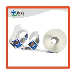 Mode Surface lisse autocollant papier alimentaire/étiquette d'impression personnalisée
