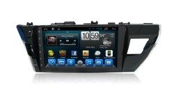 Dans le système de navigation de support pour voiture Toyota Corolla 2014 lecteur de DVD de gauche
