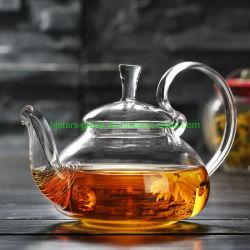Стекло с Teapot теплового сопротивления вливания из нержавеющей стали