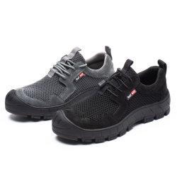 Il sandalo impermeabile del CE d'acciaio della protezione contrassegna l'alto PVC uomini industriali pattini di sicurezza