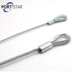 Pulsa la cuerda Eslinga alambre galvanizado con la mecánica de dedal