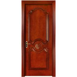 Porte de bois solide MDF de l'intérieur de porte extérieur des portes en bois (YH-2051-1)