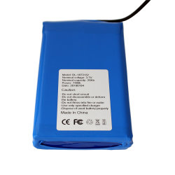Commerce de gros batterie polymère de lithium pour casque