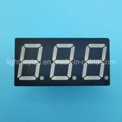 RoHS 0,52 pouces conformes à trois chiffres de l'affichage à LED 7 segments avec les circuits de Fabricant expert en statique