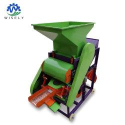 Cáscara de maní maní Sheller Máquina de extracción de la máquina de cacahuete medio