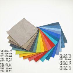 Cuero impermeable Lmitation Cortina Abrazine textil hogar ropa de cama sofá tapizado de tela