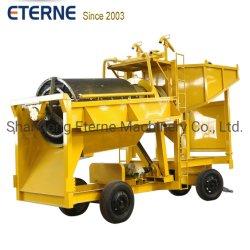 Seleção de mineração de ouro Trommel portátil planta de lavagem para a terra de fábrica de recuperação mineral equipamento de lavagem aluviais de pequena capacidade