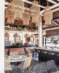 방수 옥외 가구 등나무 의자 고리 버들 세공 겹쳐 쌓이는 의자