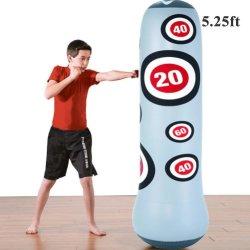Sac de boxe Sac de boxe lourd sac de boxe gonflable tour autostable jouer condition physique des enfants adultes Sac de boxe De-Stress cible