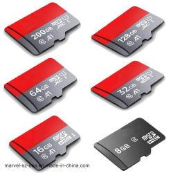 Smartphone를 위한 마이크로 SD 카드 Class10 16GB 32GB 64GB 128GB 메모리 카드 C10 소형 SD 카드 TF 카드
