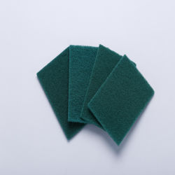 Venda quente Cozinha Verde seco Esfregões cápsula scrub