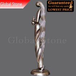 Abstrakte Gussteil-Bronzen-nackte Dame Sculpture (GSBR-173)