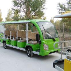 14 places électrique à basse vitesse Bus touristiques pour voyager