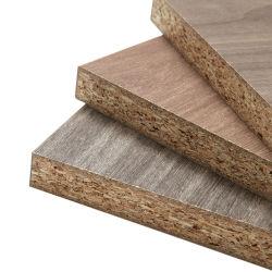 Linyi-Fabrikdirektes Woodgrain-Melamin-überzogene Spanplatte Multi-Korn Spanplatte für Möbel