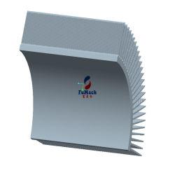 6063 알루미늄 돌출 프로파일 방열판 프로파일용 의료 장비