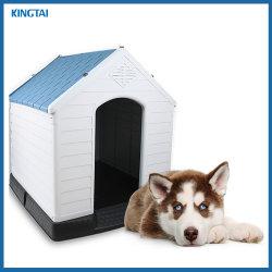 A Husky Chow Labrador Pastor Pet Dog House com tamanhos diferentes