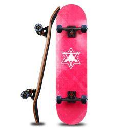 3108 PRO completo patada de doble capa de 7 adultos Skateboards Arce