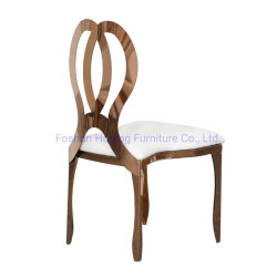 Restaurant L'empilage de meubles de salle à manger Chaise modèle d'onde banquet de l'hôtel Président