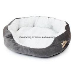 De zachte Goederen van de Mat van de Pluche van de Kennel van het Huis van de Vacht van het Bed van de Kat van het Puppy van het Nest van de Hond van het Huisdier Warme voor Bed van de Hond van Huisdieren het Kleine