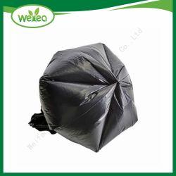 100% 생물 분해성 플라스틱 쓰레기 검정 쓰레기 봉지