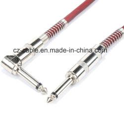 Le président Câble AV Câble Câble téléphonique, 6.35mm 1/4 pouce, Câble à Fiche mâle câble Guitar Player