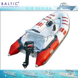 Baltic costela 420 MOTOR C Pontoon costela insuflável de Pesca barco de desporto com marcação CE