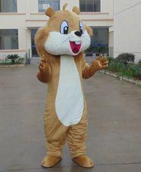 Het in het groot Kostuum Van uitstekende kwaliteit van de Mascotte van de Eekhoorn voor Volwassene