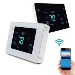 Singolo termostato della stanza del montaggio della parete della fase 24V di Multe per il sistema della pompa termica