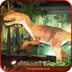 Showroom de spécimens de dinosaures de simulation élevée