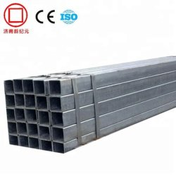 Construção de material metálico de fornecedor para o aço carbono Oco Square Tubo de Aço
