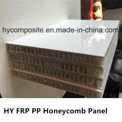 De PP de fibra de vidro liso resistente às condições climatéricas favo de mel para a construção do corpo da máquina