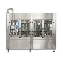 Automatisches Gallone 3-5 flüssiges Barreled Wasser-waschende füllende mit einer Kappe bedeckende Maschine