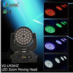 Vangaa 36PCS 10W RGBW 4in1 hohe Leistung LED Zoom Movinghead (VG-LM364Z)