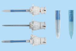 Conseil de sécurité de l'endoscope jetables Trocart de laparoscopie avec lame de blindés (SC-004)