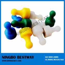 NdFeB Magnetisches Kunststoffmaterial mit Druckstiften