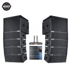 Outdoor 1000 personnes enceinte de line array DJ audio professionnels de l'événement PA Sound System avec microphone et le mélangeur