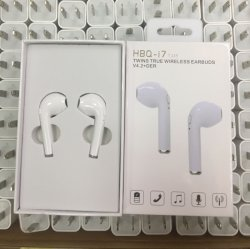 新しい Bluetooth ハンドセット Hbq i7 TWS ワイヤレスイヤホンイヤホン I6/I7/I8/ Galaxy 6/7/8.
