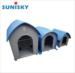 ペット家のドアの普通サイズの卸売が付いている屋外の犬小屋