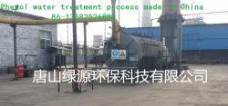O processo de tratamento de águas residuais de fenol
