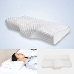 El contorno de la memoria ortopédica almohada de espuma almohadas cervicales dolor de cuello para relajar los servicios de salud Cervical almohada una mayor calidad