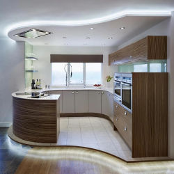 Hot gabinetes de cocina de madera MDF de EE.UU agitador de gris pintados de gabinetes de cocina kitchen cabinet ODM moderno de madera maciza